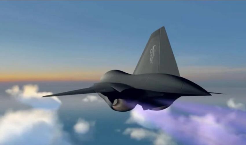 洛·马公司发布的神秘飞行器画面截图