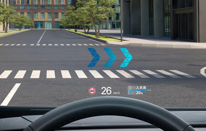 AR实景导航加上HUD会有哪些黑科技体验-图2