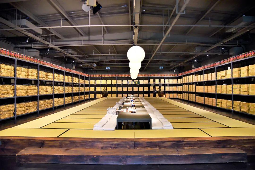 2020年8月8日,位于湖北汉川市的一处普洱茶仓。图/视觉中国