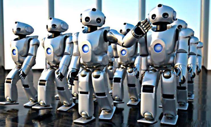 机器人爆发劳工潮