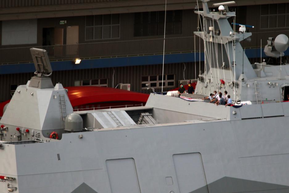 """""""塔江""""级最多可携带16枚反舰导弹,火力堪比驱逐舰。"""