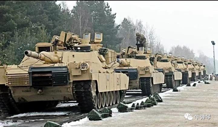 坦克源源不断运往前线,一场战争正在酝酿中!