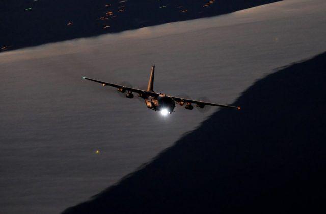 美军AC-130J空中炮艇机最新升级:将配备测试机载高能激光武器 这是该机目前最新升级措施