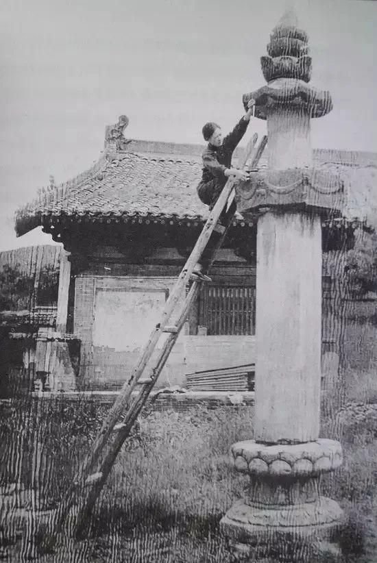 为保护山西做出巨大贡献的林徽因测量佛光寺经幢