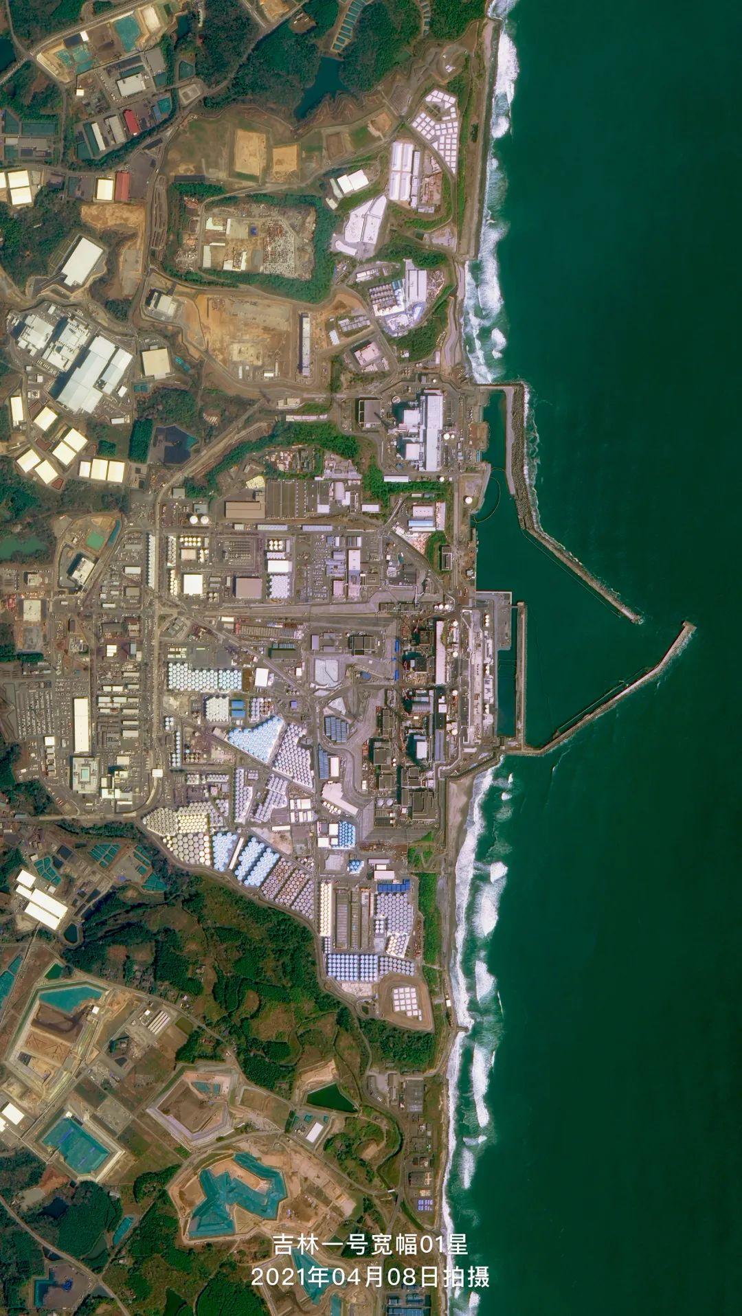 图:日本福岛第一核电站