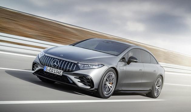 2021慕尼黑车展 梅赛德斯-AMG EQS 53 4MATIC+正式发布