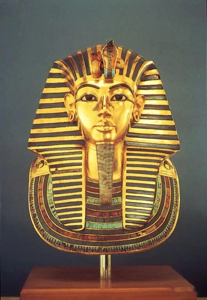 图坦卡蒙黄金面具