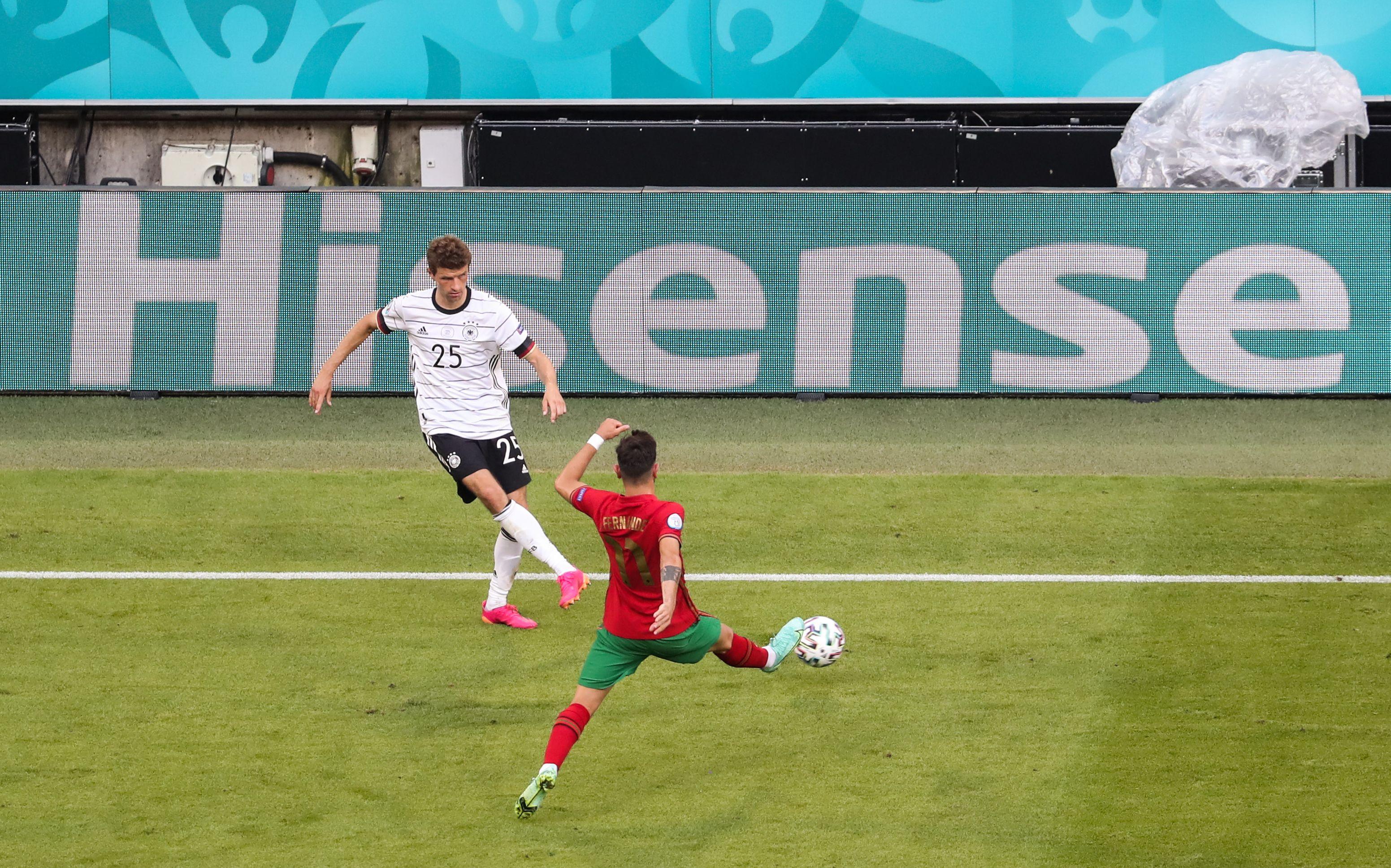 重回国家队的穆勒本次欧洲杯一球未进。