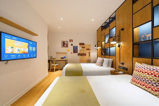 康铂酒店品牌联合锦江全球创新中心,重磅推出FITUP 健身房房型