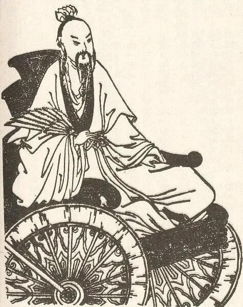 上图_ 诸葛亮(181年-234年),字孔明