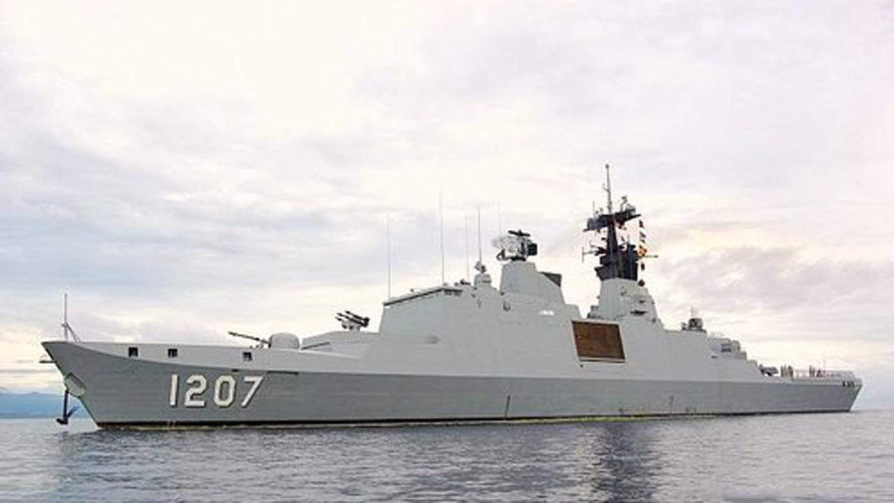 台军20多年古董军舰欲加装新导弹对抗大陆,却撞滩出糗秒打脸
