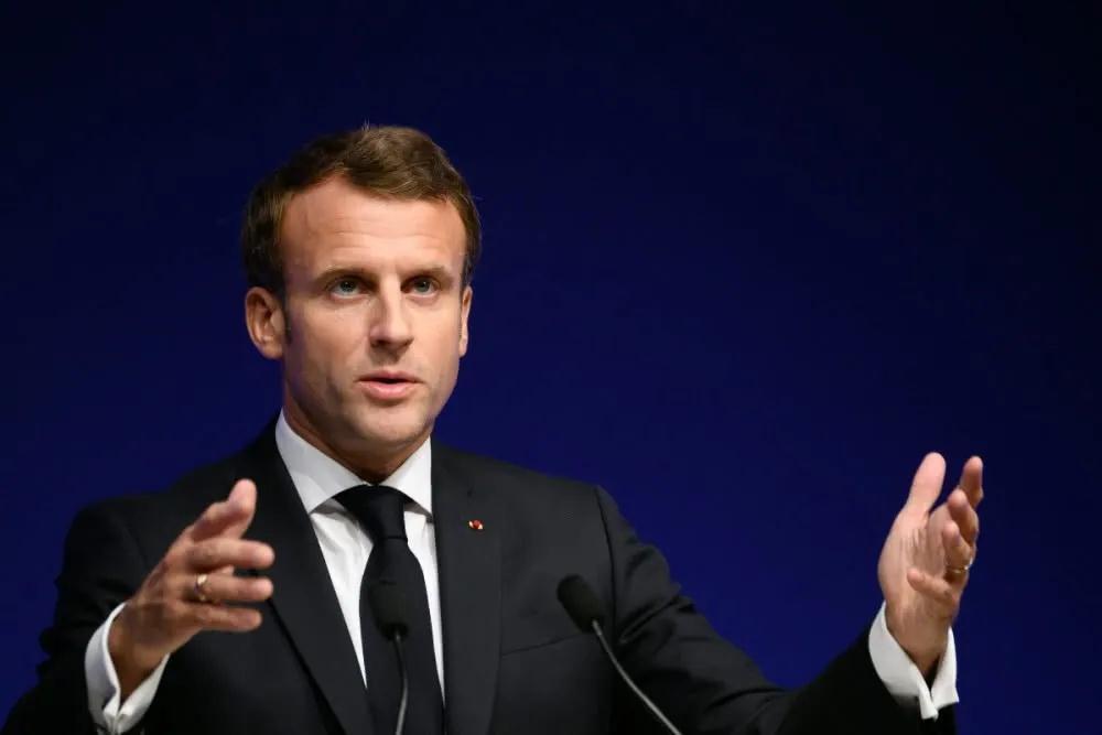 法国总统马克龙 资料图