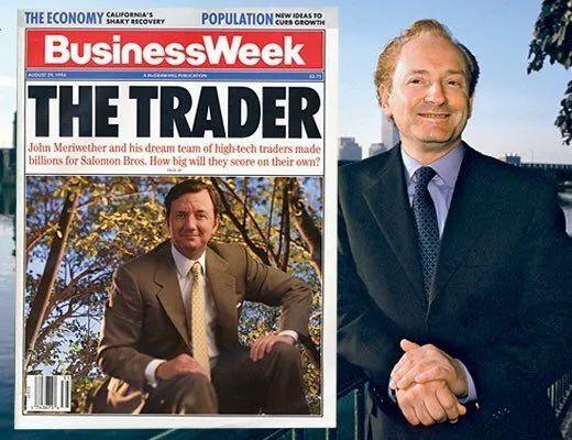 《商业周刊》对Meriwether的封面报道,1994年