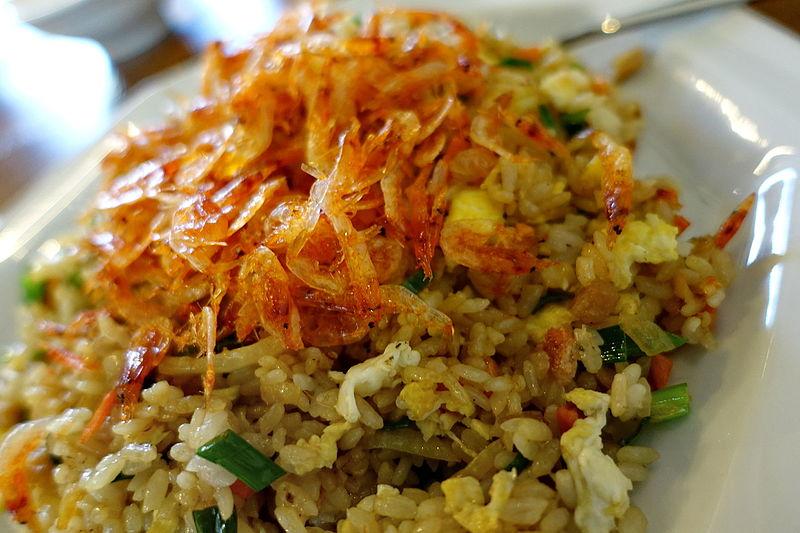 樱花虾炒饭