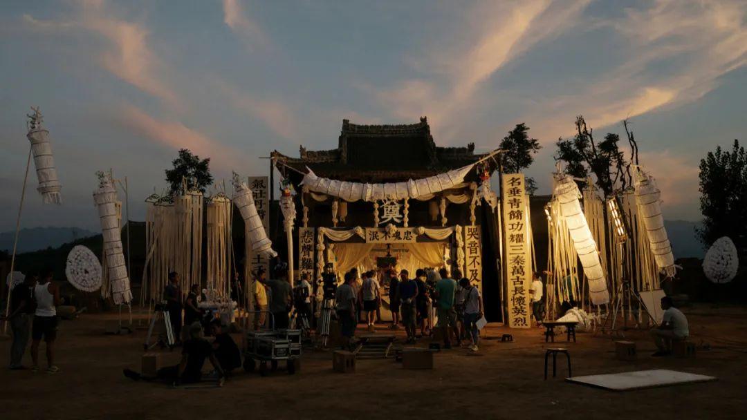 2015年 陕西蓝田 葬礼拍摄现场