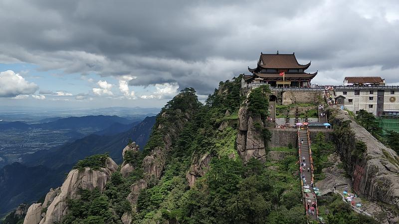 安徽九华山风景区  视觉中国 图