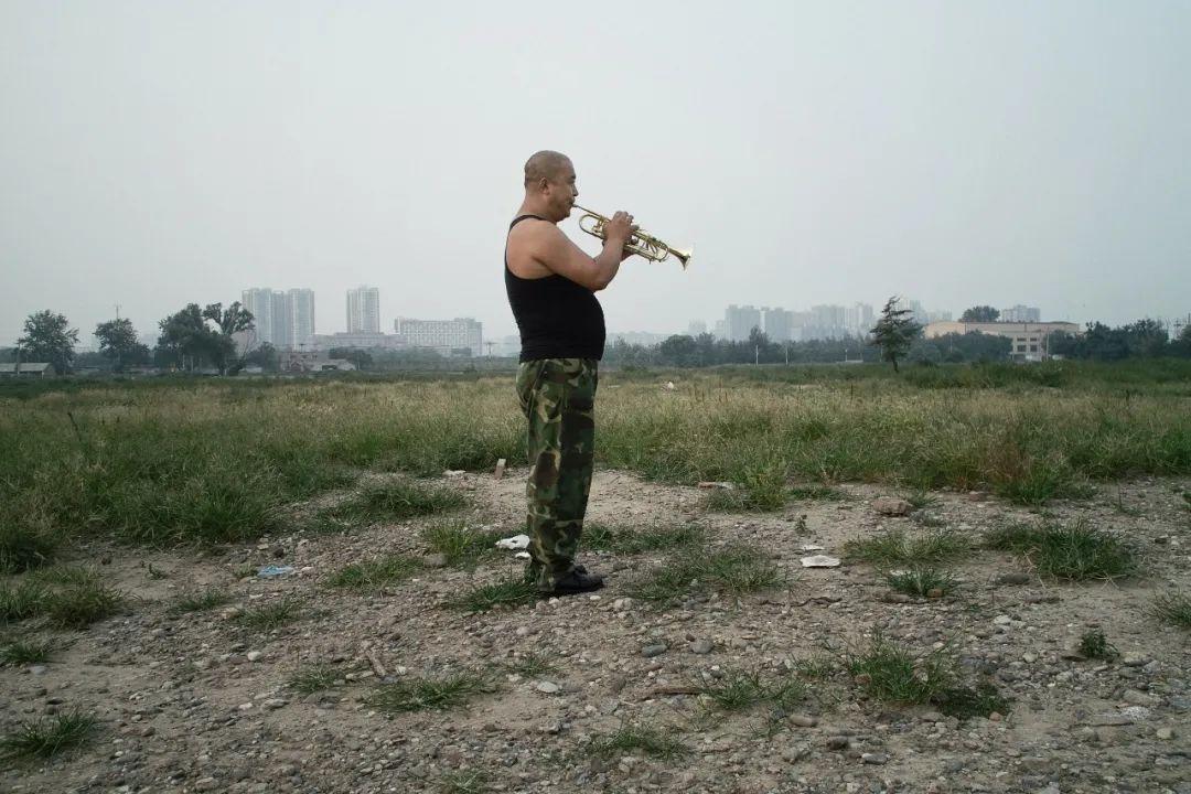 孙旻焱的另一组纪实作品《中心之城》