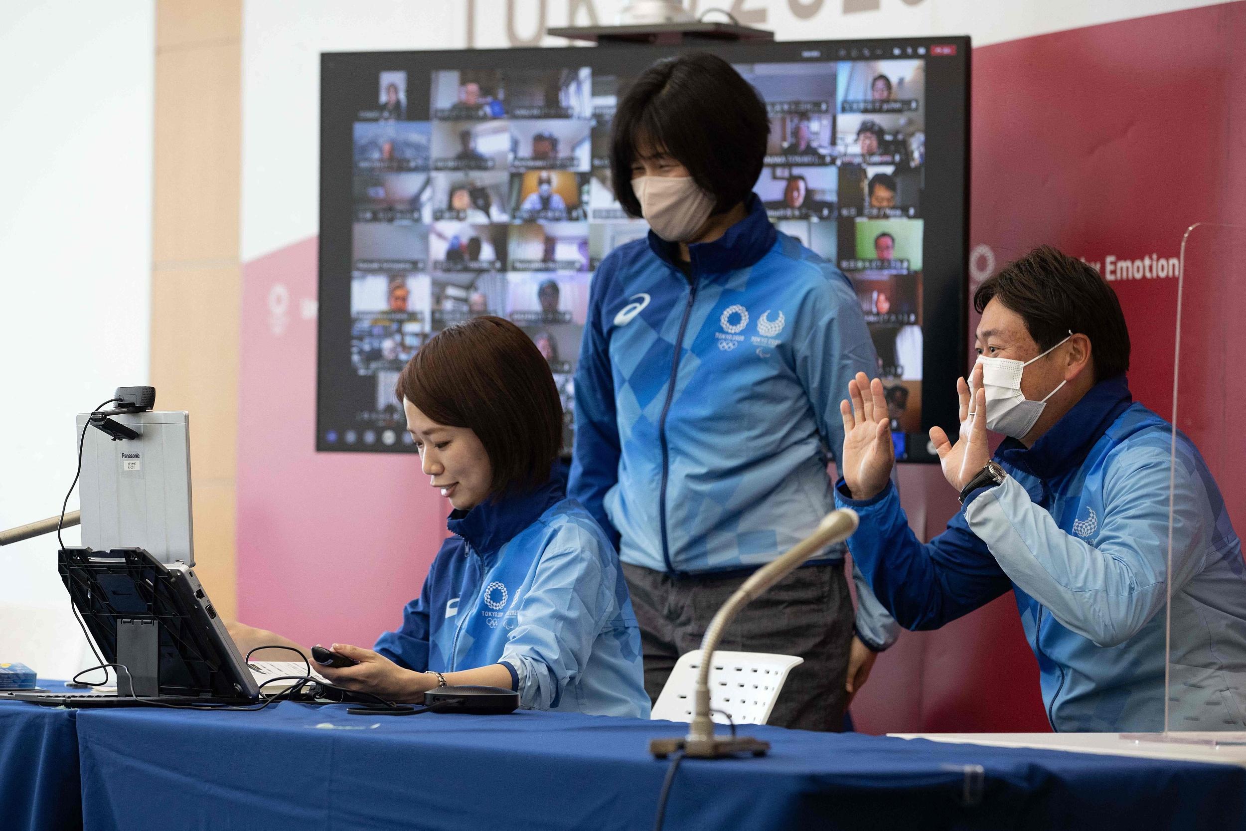 东京奥运开展线上志愿者培训。