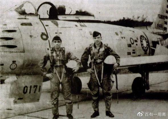 国军F-86战斗机的飞行员