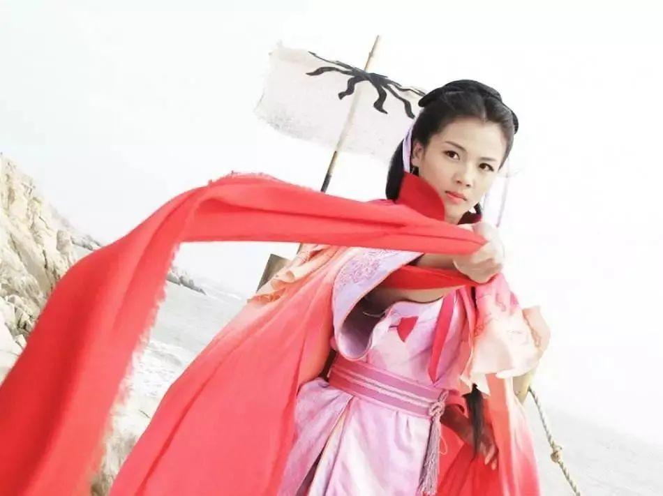▲刘涛饰演的妈祖形象
