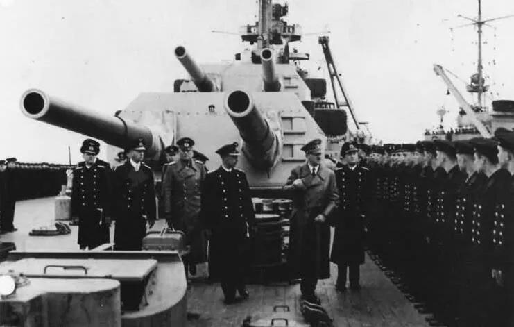 上图_ 二战德国海军