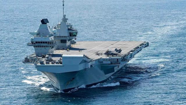 """英国的""""伊丽莎白女王""""级常规动力航母"""