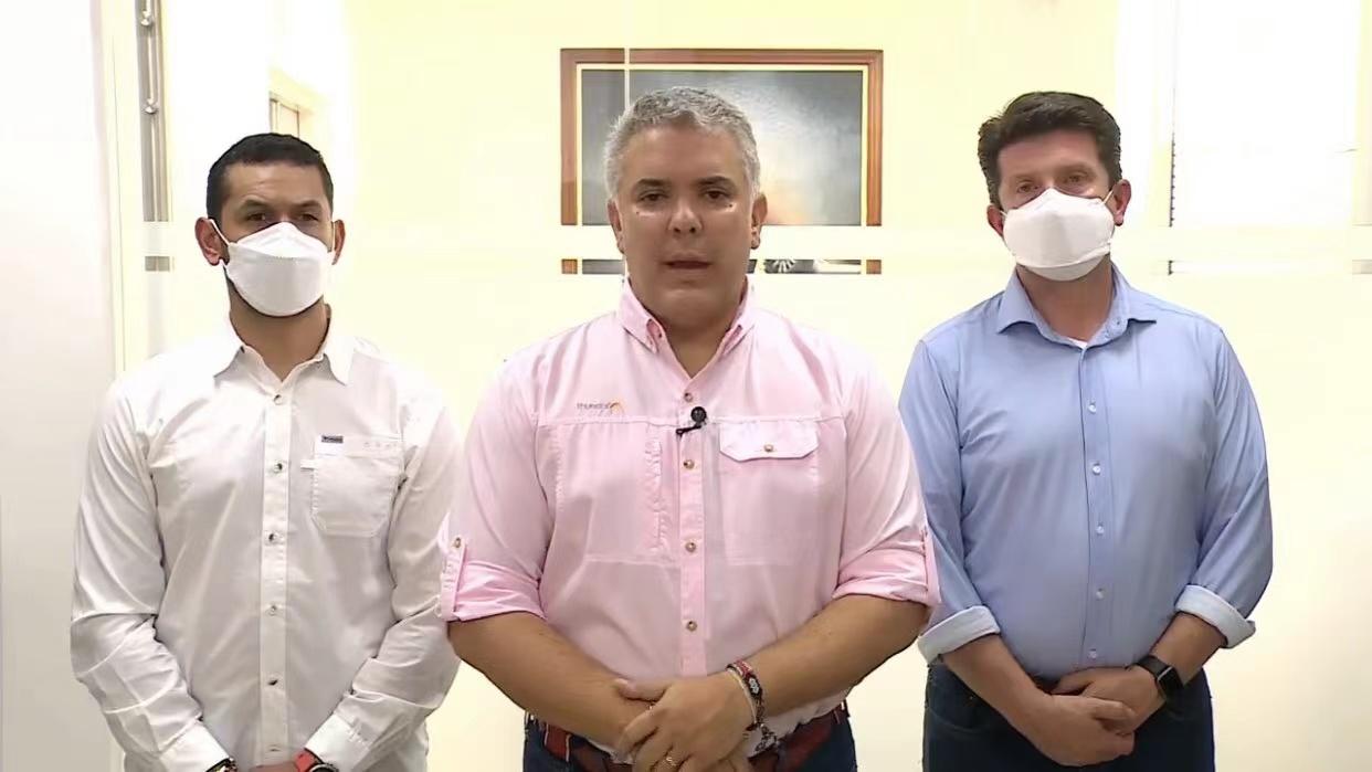 哥倫比亞總統直升機遭襲 當地媒體:被擊中至少3次