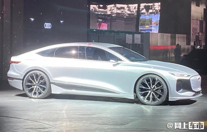奥迪A6 e-tron概念车全球首发最大续航超700km-图3