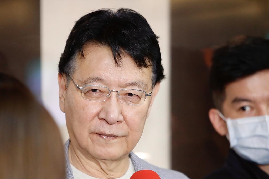 江启臣宣布争取连任国民党主席后 赵少康回应