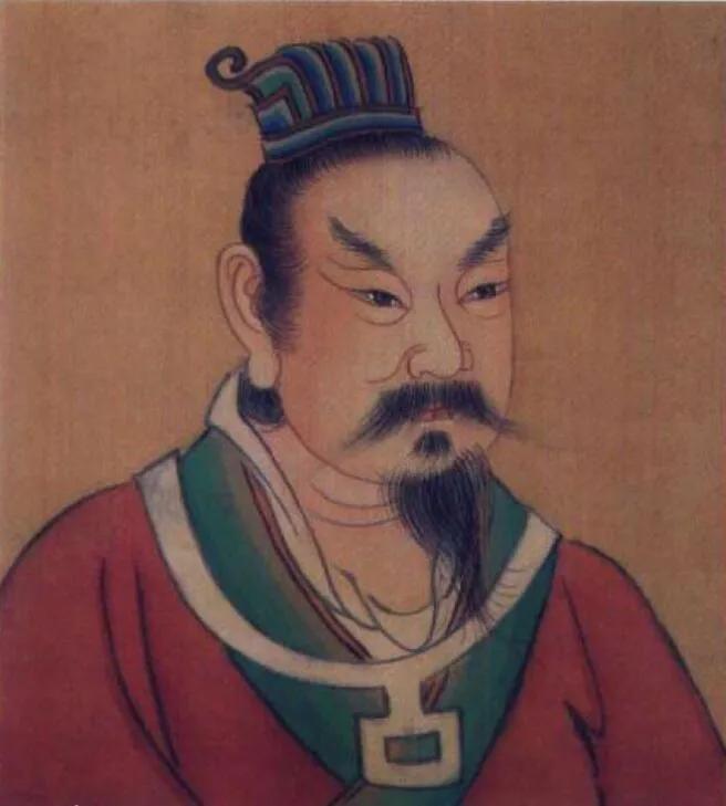 上图_ 梁太祖朱温(852年12月9日—912年7月18日),开平元年(907年)到乾化二年(912年)在位