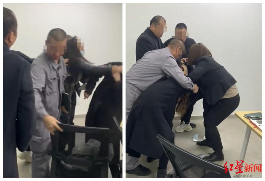 """北京一女子遭同事毆打還手,""""私自撥打報警電話""""后被開除"""