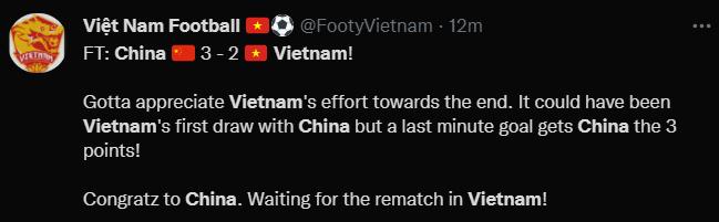 国足,绝杀越南队!以3:2比分击败越南,全取三分
