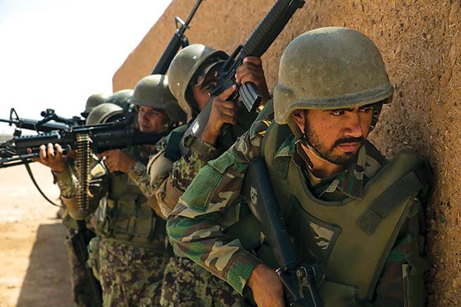 外媒:阿富汗检查站遭塔利班袭击,30名阿富汗士兵失踪插图