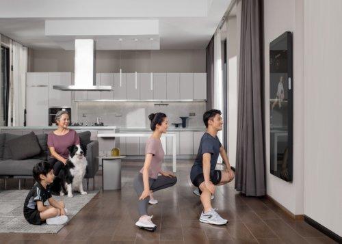 5000节课程满足全家锻炼需求,单次才7元的健身镜一点也不贵
