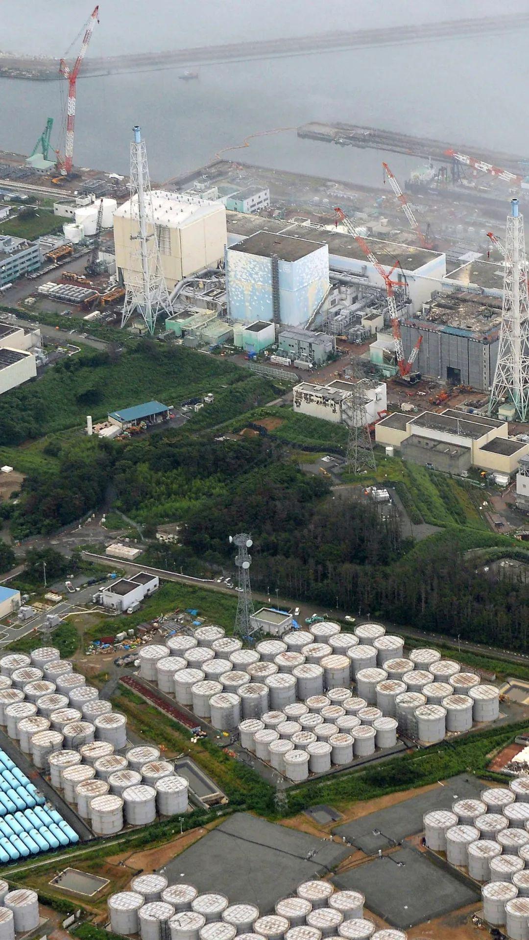 ▲2013年8月20日航拍的日本福岛第一核电站。新华社/美联