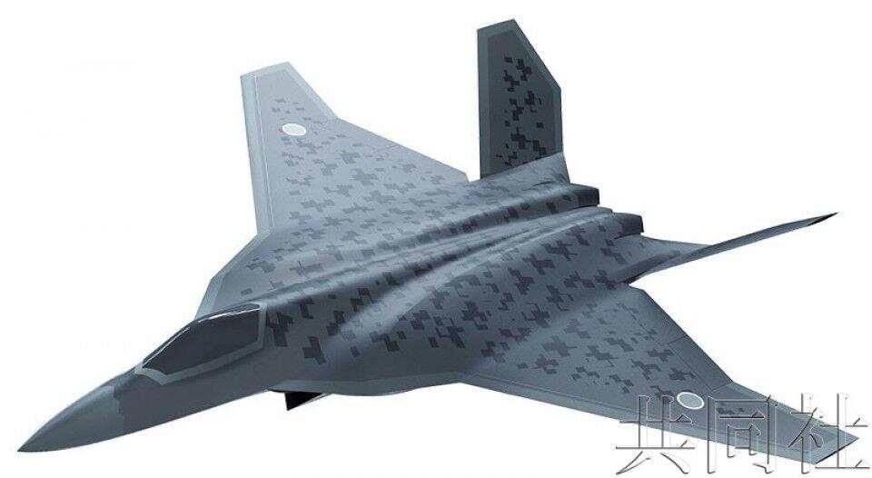 日本下一代战斗机效果图