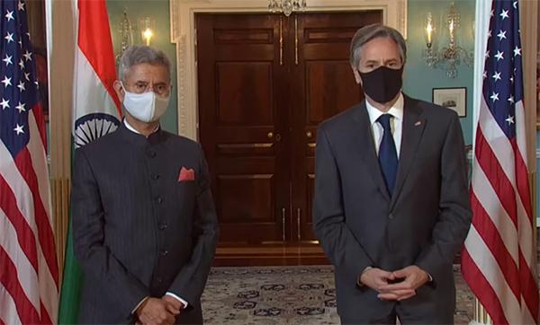 美国务卿布林肯:美国和印度要联手抗击疫情