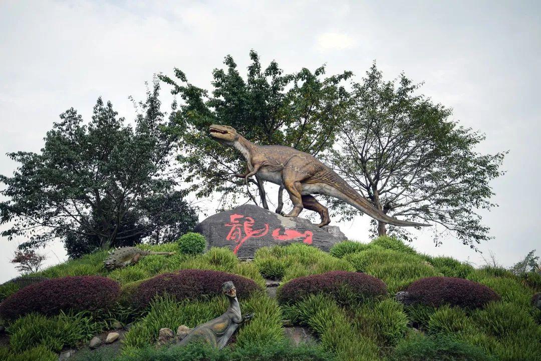 """△毫不夸张说,""""恐龙""""养活了自贡人/图虫创意"""