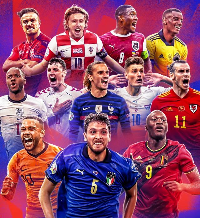 歐洲杯8隊爭4席太殘酷:4隊曾是冠軍 2強拿過世界杯
