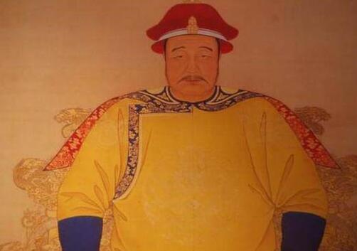皇太极画像