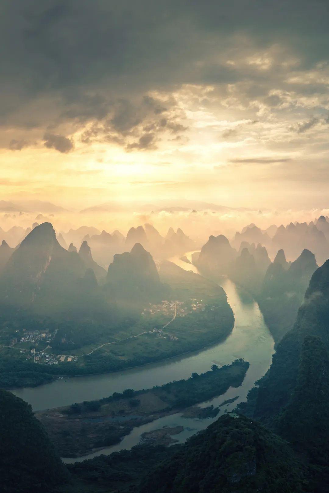 ▲ 桂林漓江。 摄影/壹米网线