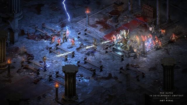 《暗黑破坏神2:重制版》与原版对比视频 暗黑破坏神2正版