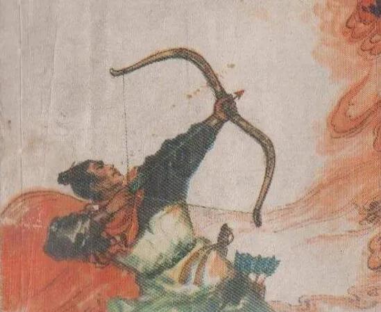 上图_ 后羿,五帝时期人物,帝尧的射师,嫦娥的丈夫