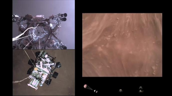 """史上首次!NASA""""毅力""""号录下了来自火星的声音"""