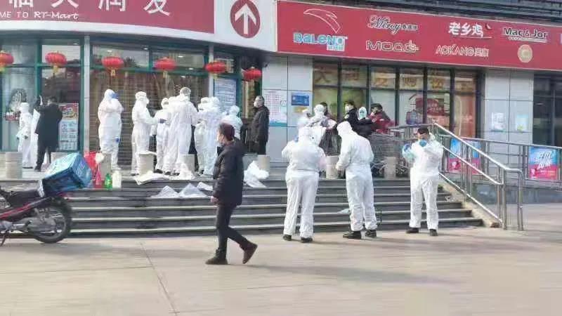 【mt. gox】_身穿防护服人员现身合肥一超市,当地回应