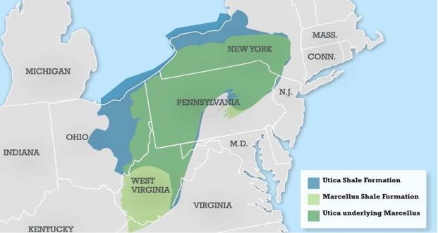 宾夕法尼亚州丰沛的天然气资源助力该州塑料产业的发展