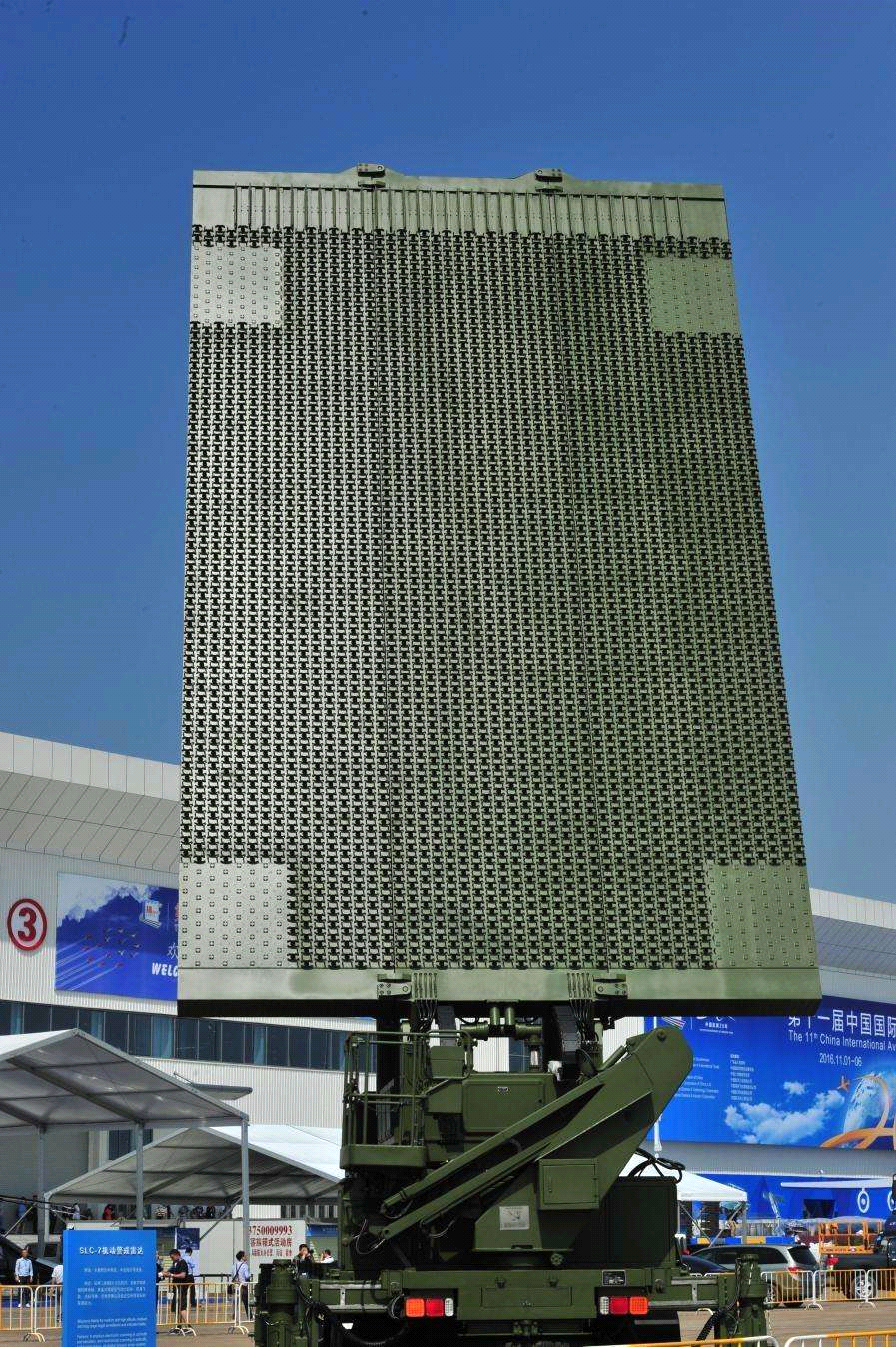 SLC-7是第四代情报雷达的代表型号。