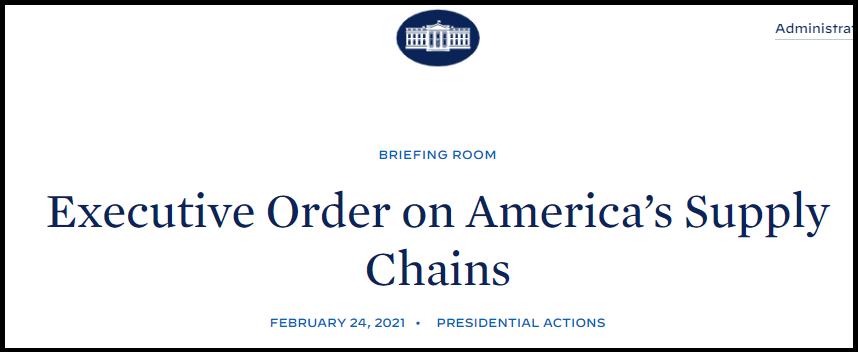 ▲美国白宫网站公示截图