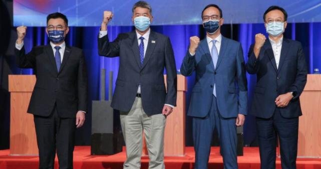 国民党主席选举政见会登场 四位候选人说了什么?