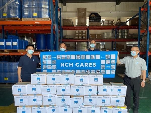 NCH中国助力扬州抗击疫情